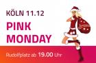 """""""Pink Monday"""" Treffen auf dem Kölner Weihnachtsmarkt"""