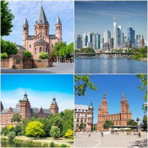 Mainz Frankfurt Wiesbaden Aschaffenburg