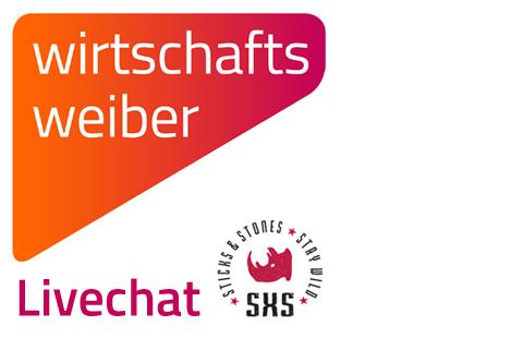 Logo Wirtschaftsweiber - Livechat auf der Sticks&Stones