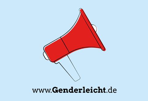 Logo der Plattform gendersensible Sprache