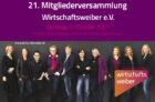 21. Mitgliederversammlung Wirtschaftsweiber e.V. mit Wahl neuer Vorständinnen